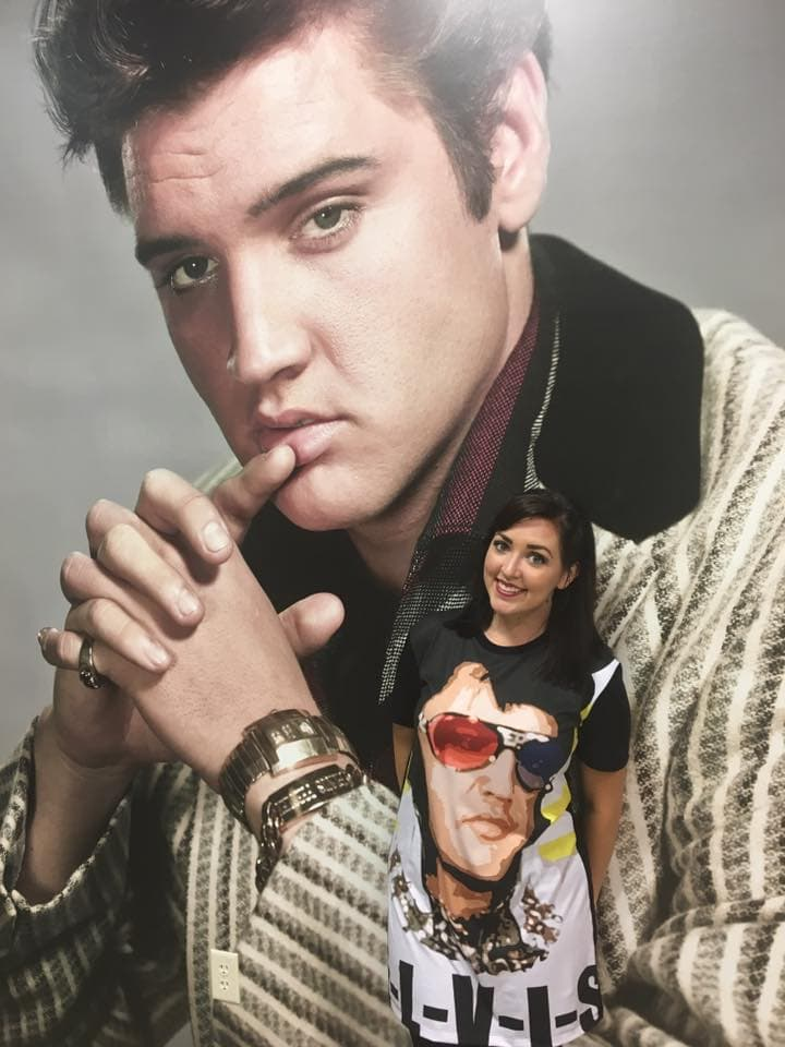Elvis Dress Retro Glasses