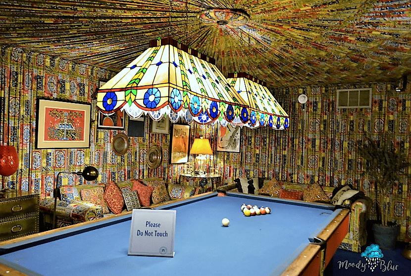 Elvis Presley's Graceland - Billiard Room