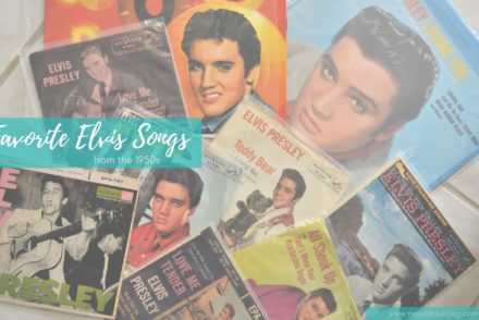 Favorite Elvis Songs from the 1950s