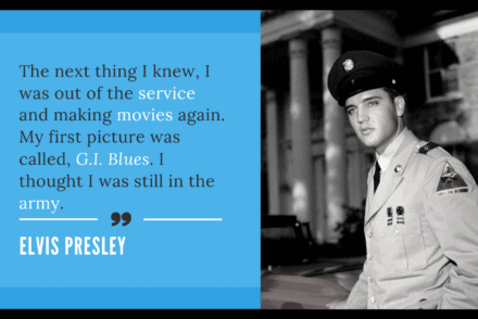 It's Only Words Elvis Quote 5/26