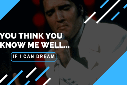 You think you know me well: If I Can Dream Blog